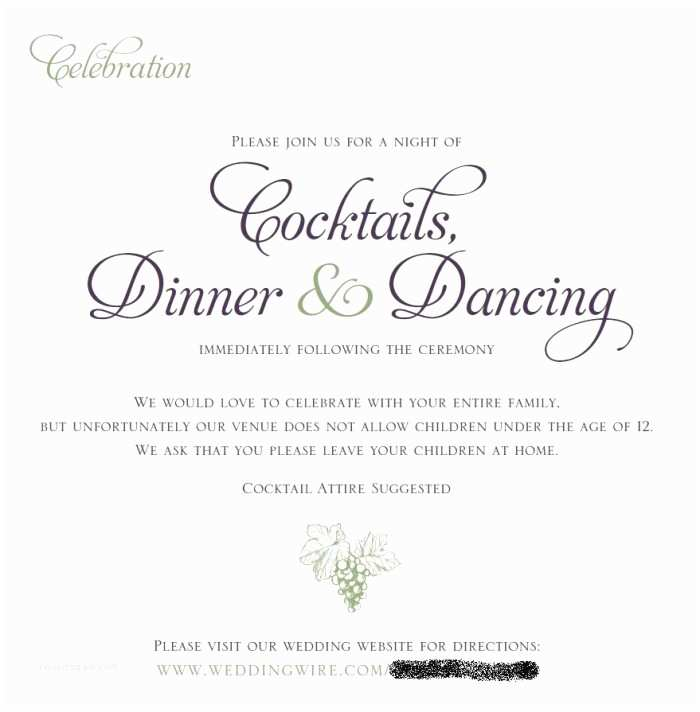 Adults Only Wedding Invitation Adult Only Reception & People are Already Trying to Bring