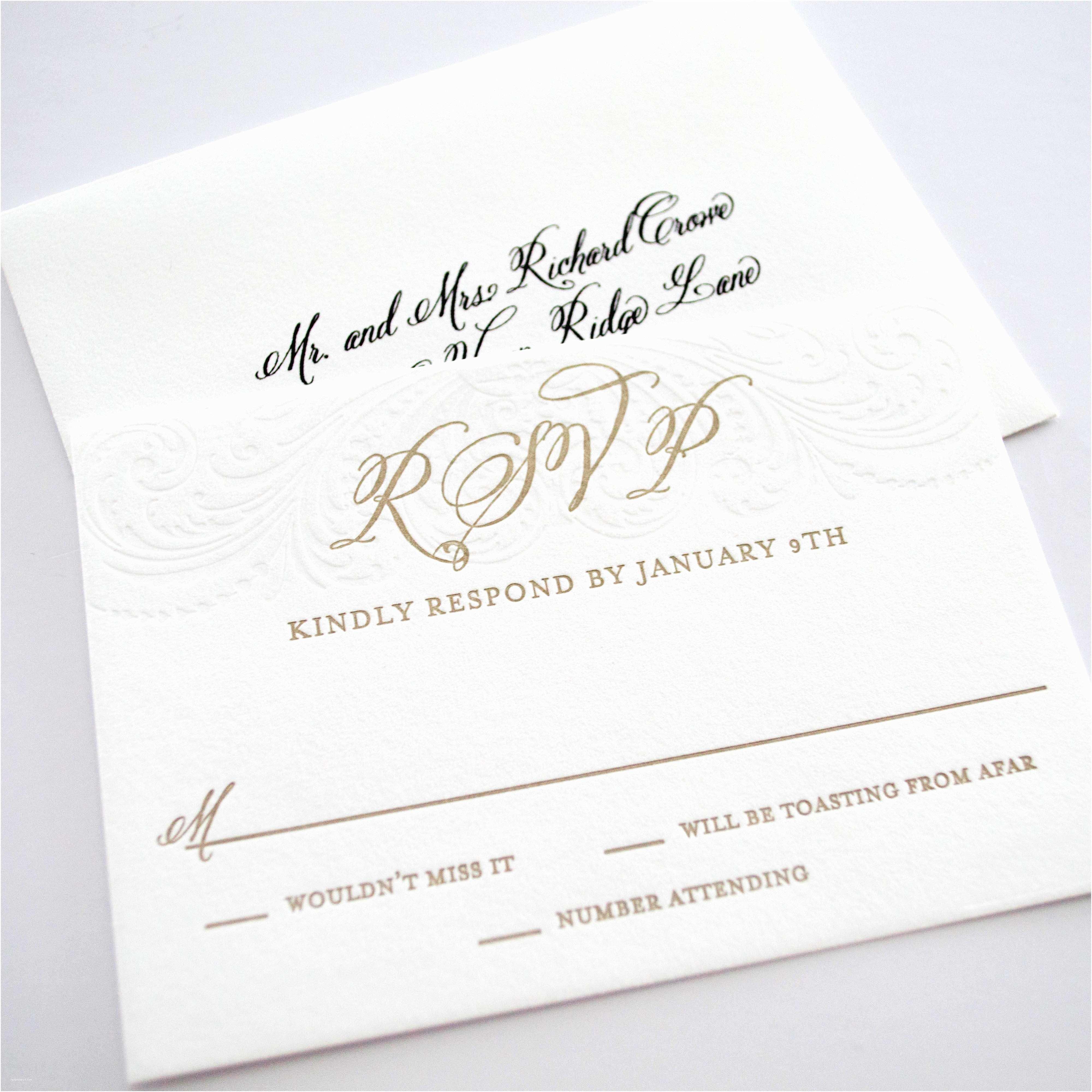 Affordable Letterpress Wedding Invitations Affordable Letterpress Wedding Invitations