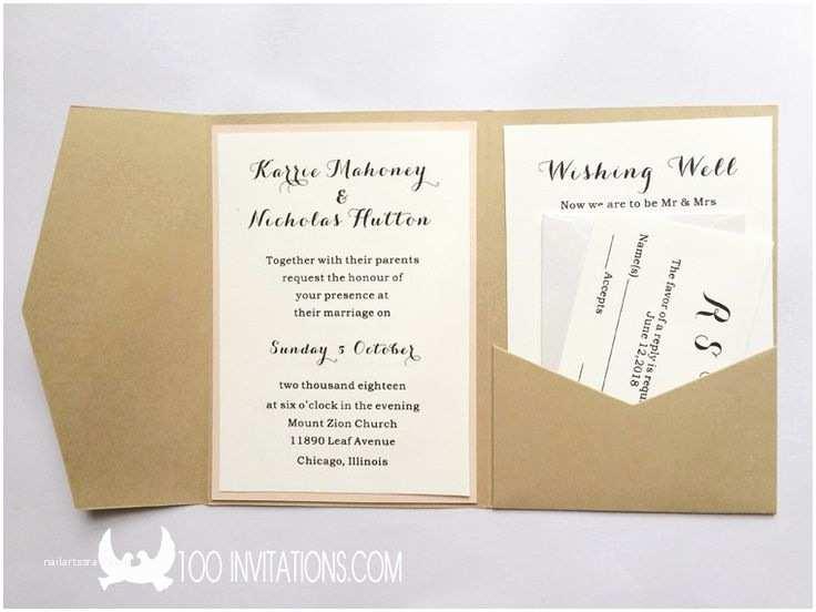 Affordable Pocket Wedding Invitations 24 Best Pocket Invitations Images On Pinterest