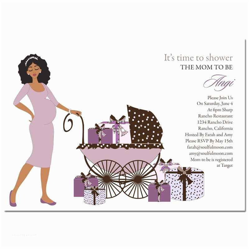 African American Baby Shower Invitations African American Baby Shower Invites