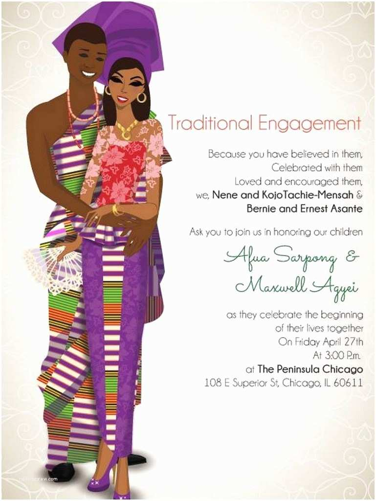 African themed Wedding Invitations 10 African Wedding Invitations Designed Perfectly