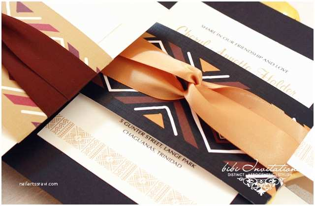 African themed Wedding Invitations African Inspired Wedding Invitations Bellafricana Digest