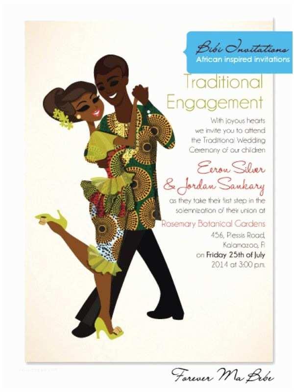 African themed Wedding Invitations Nigerian Wedding Gallery