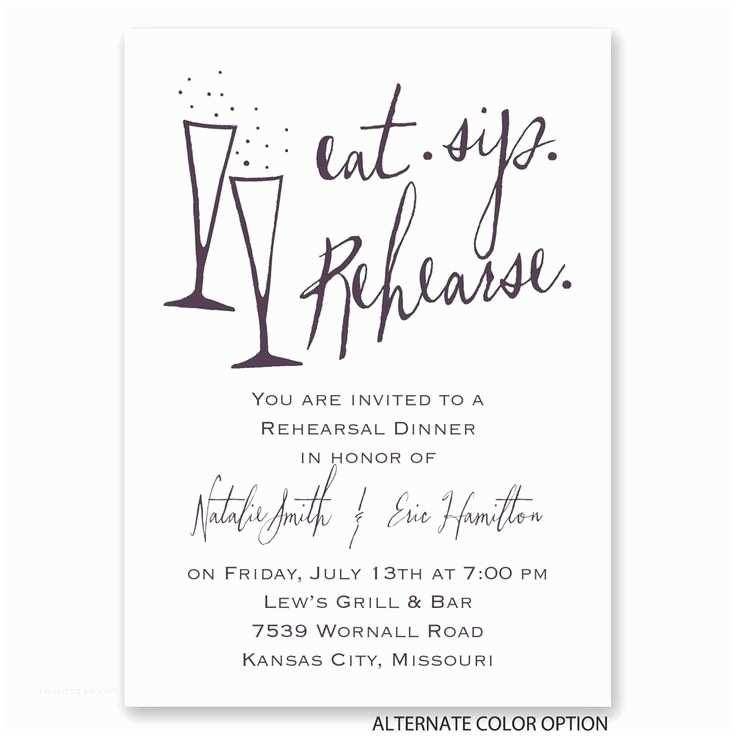 After Wedding Dinner Invitation Wording Invitation Templates Rehearsal Dinner Invitation