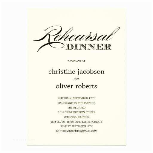 After Wedding Dinner Invitation Wording Invitation to Rehearsal Dinner Wording