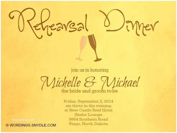 After Wedding Dinner Invitation Wording Wedding Rehearsal Dinner Invitation Wording