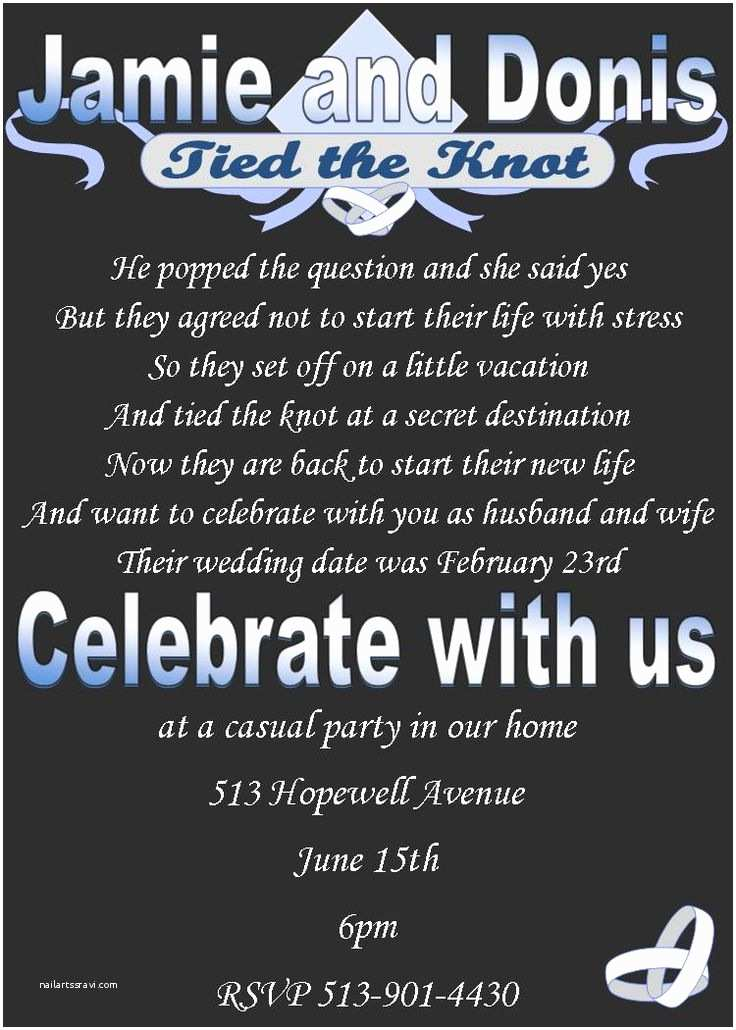 After Wedding Party Invitations Best 25 Wedding after Party Ideas On Pinterest