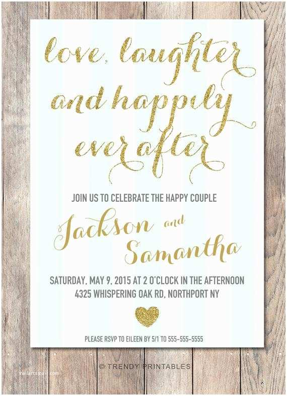 After Wedding Party Invitations Engagement Party Invitation Printable Engagement Party