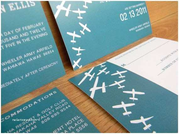 Airplane Wedding Invitations 10 Best Images About Aviation Themed Wedding On
