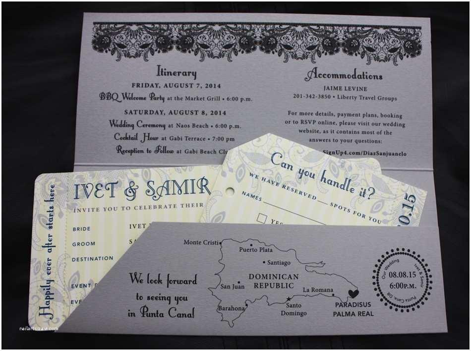 Airplane Wedding  Plane Ticket Wedding