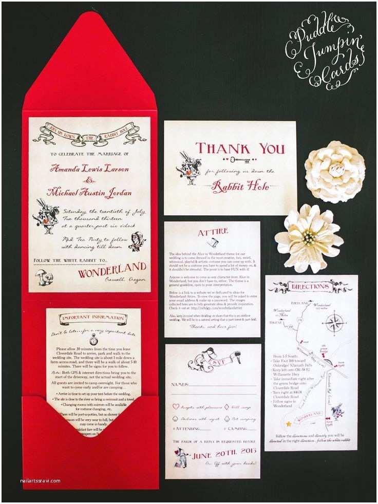 Alice In Wonderland Wedding Invitation Template Alice In Wonderland Invitation
