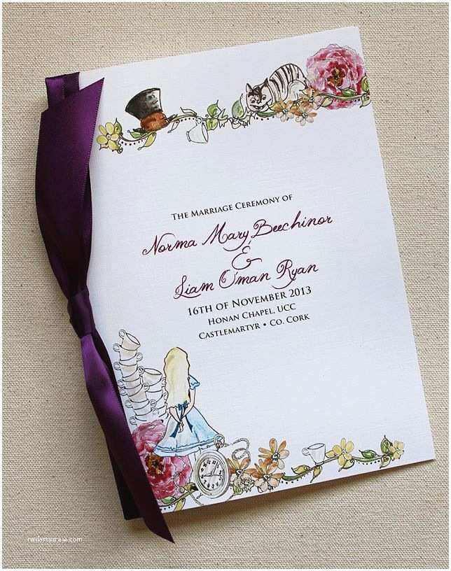 Alice In Wonderland Wedding Invitation Template Like This Alice In Wonderland Invite