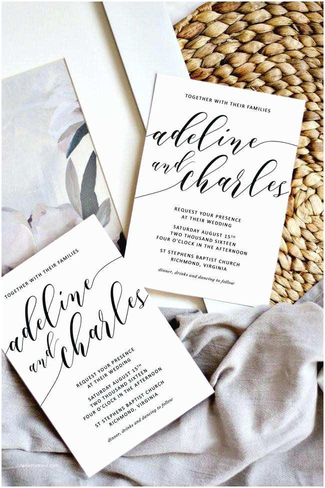 All In One Wedding Invitations Colorful All In E Wedding Invitations Image Collection