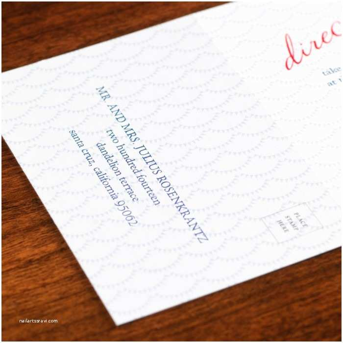 All In One Wedding Invitations Personalized Madaket All In E Wedding Invitation