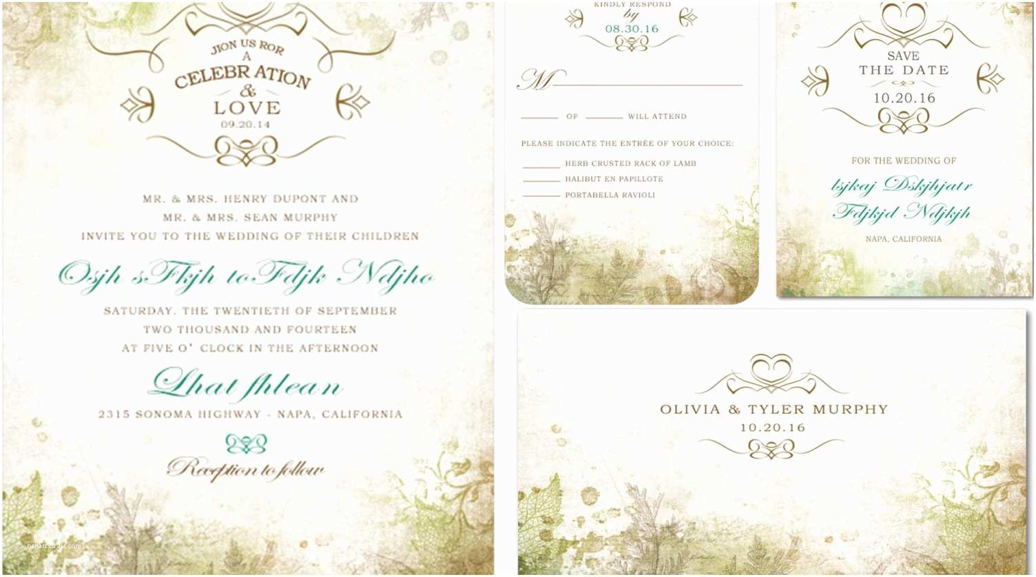 All In One Wedding Invitations Wedding Invitation Kits Capable Cheap All In E Weddi