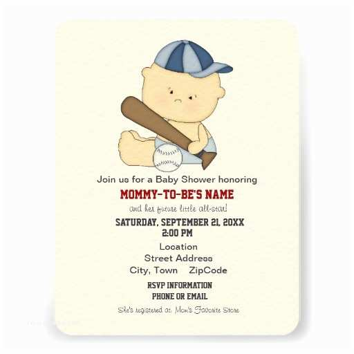 All Star Baby Shower Invitations Baseball Baby Shower Gifts T Shirts Art