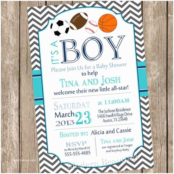 All Star Baby Shower S Chevron All Star It S A Boy Baby Shower