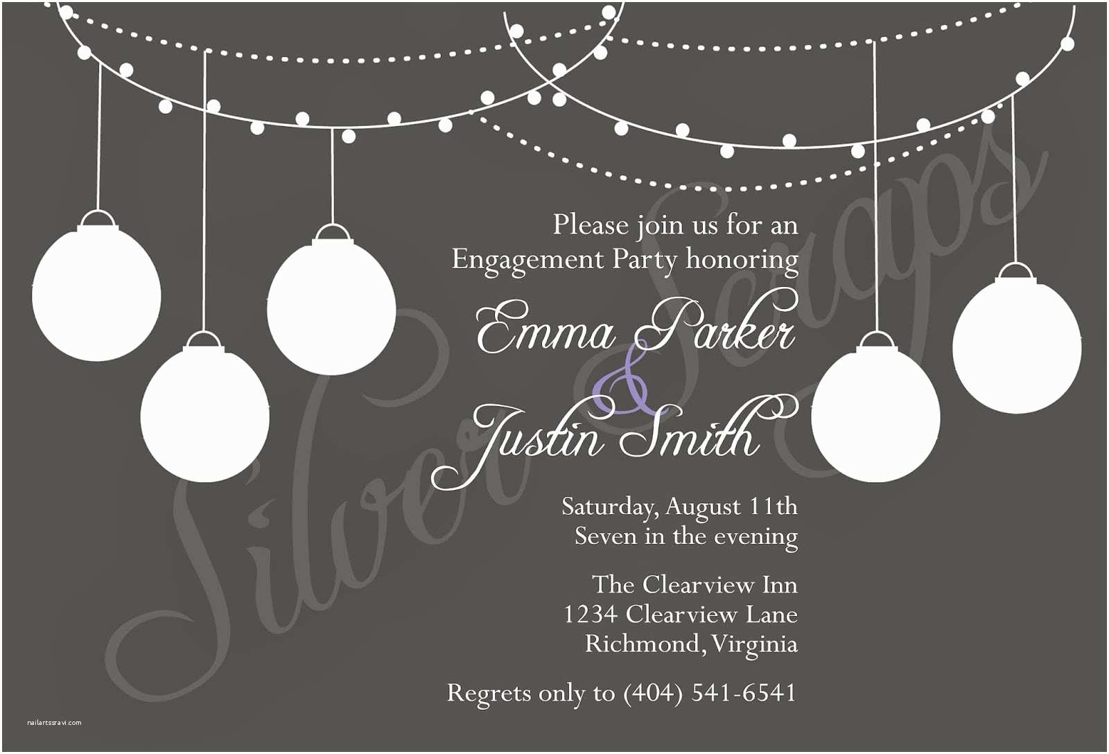 All White Party Invitations White Party Invitations