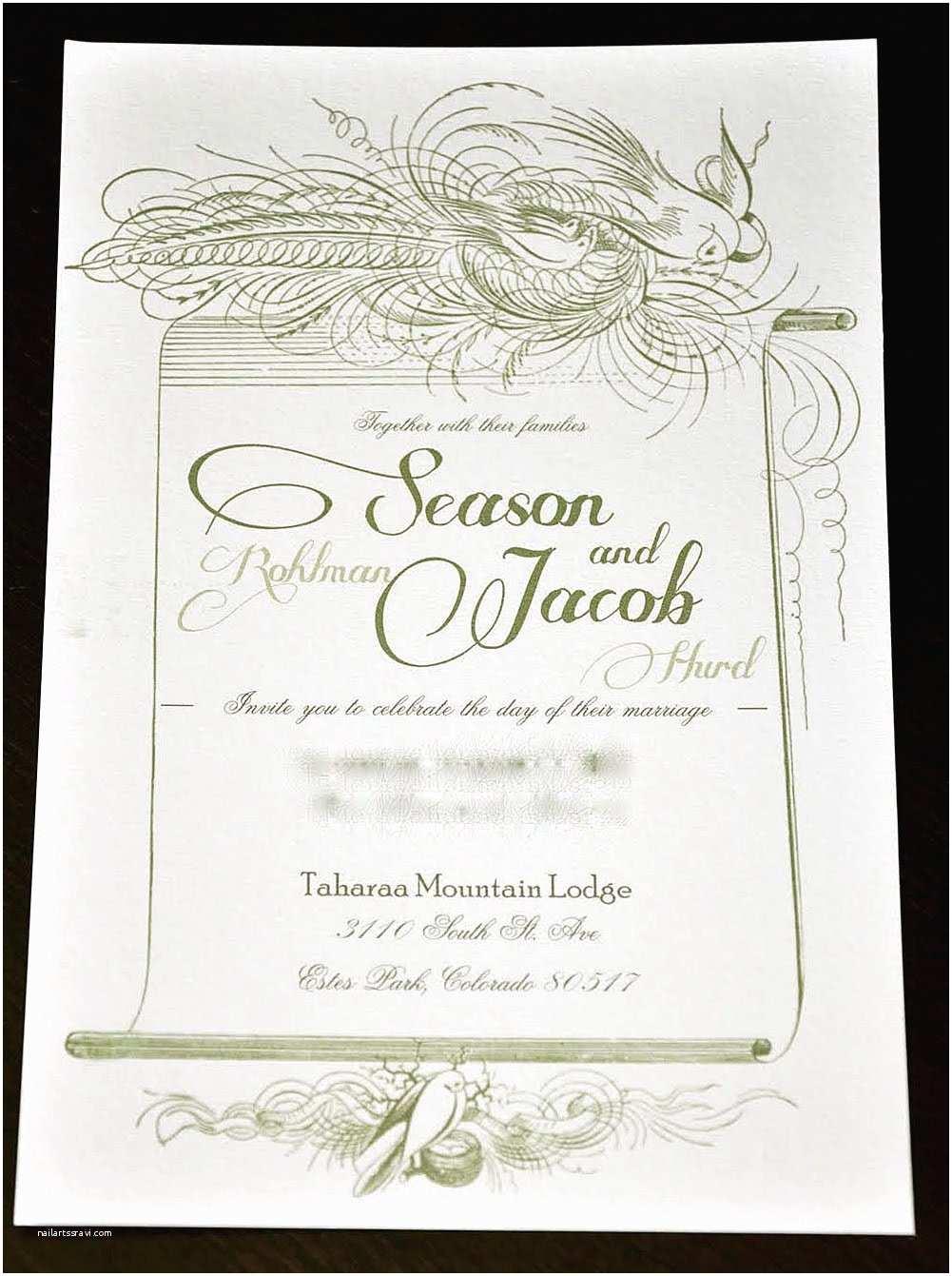 Amazing Wedding Invitations Noot S Blog Tara S Antique Wedding