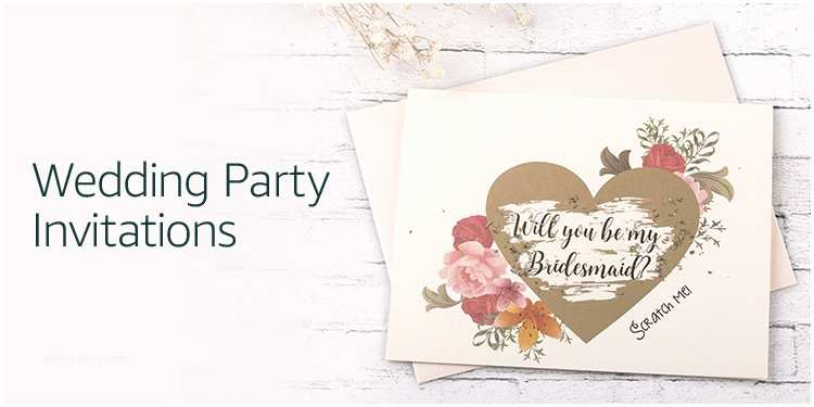 Amazon Wedding Invitations Wedding Invites & Stationery
