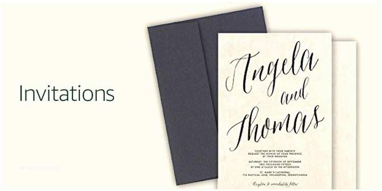 Amazon Wedding Invitations Wedding Invites & Stationery