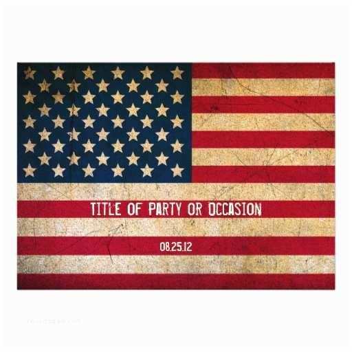 American Flag Wedding Invitations Most Popular Patriotic Invitations