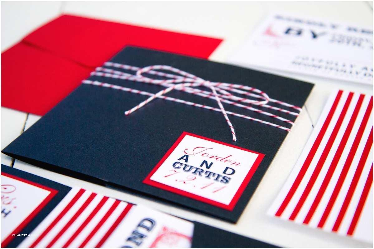 American Flag Wedding Invitations Red White Blue Wedding Stationery Inspiration