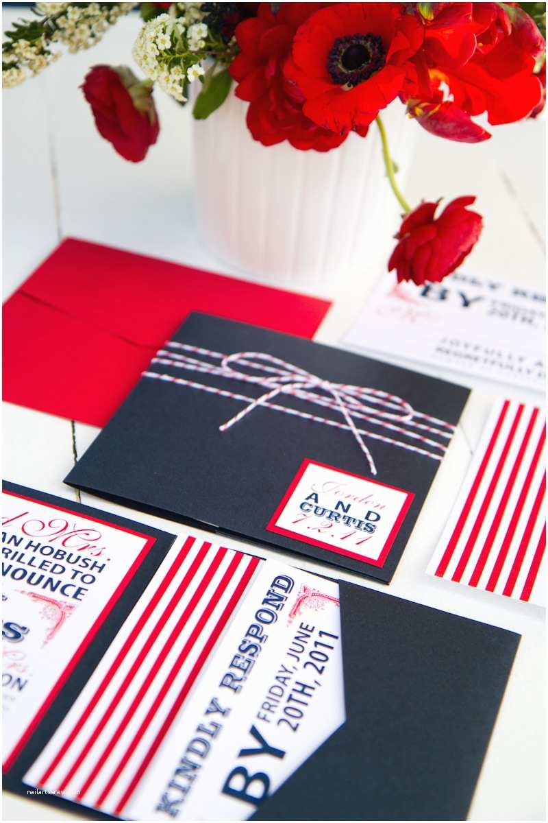American Flag Wedding Invitations Red White Blue Wedding Stationery Inspiration
