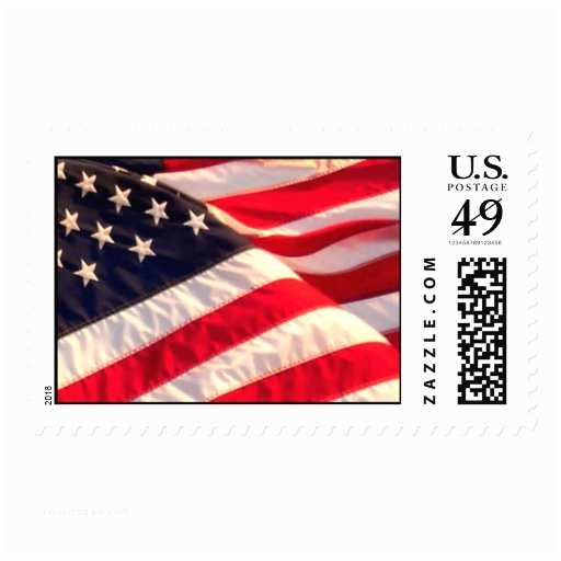 American Flag Wedding Invitations Usa Flag Military Wedding Invitation Postage Stamp