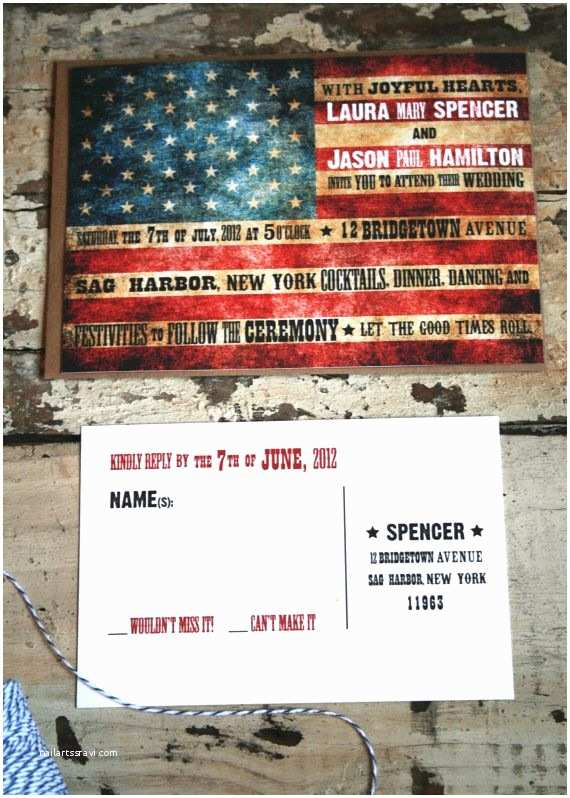 American Flag Wedding Invitations Wedding Invitation Wedding Ideas Pinterest