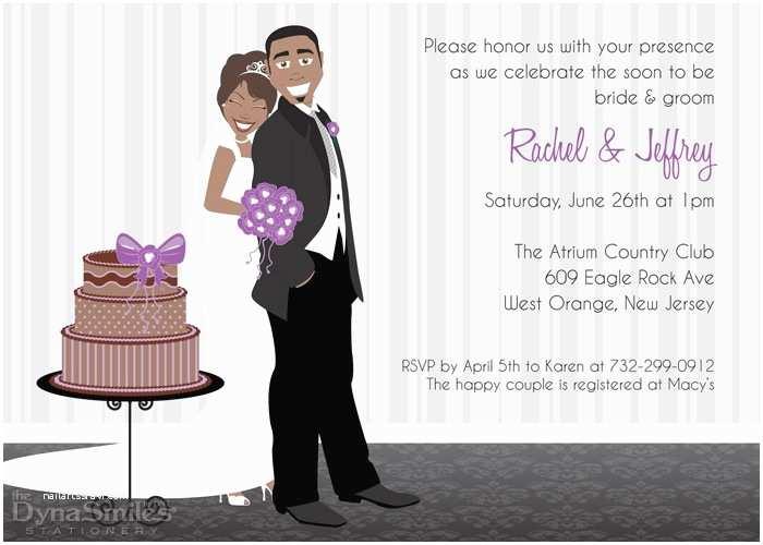 American Stationery Wedding Invitations Best Collection African American Wedding Invitations