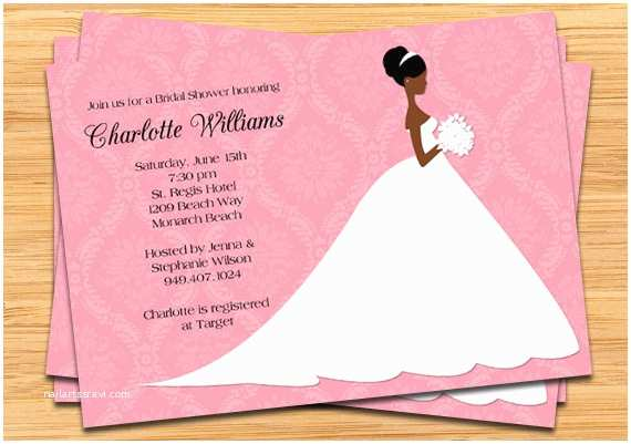 American Wedding Invitations Best Collection African American Wedding Invitations