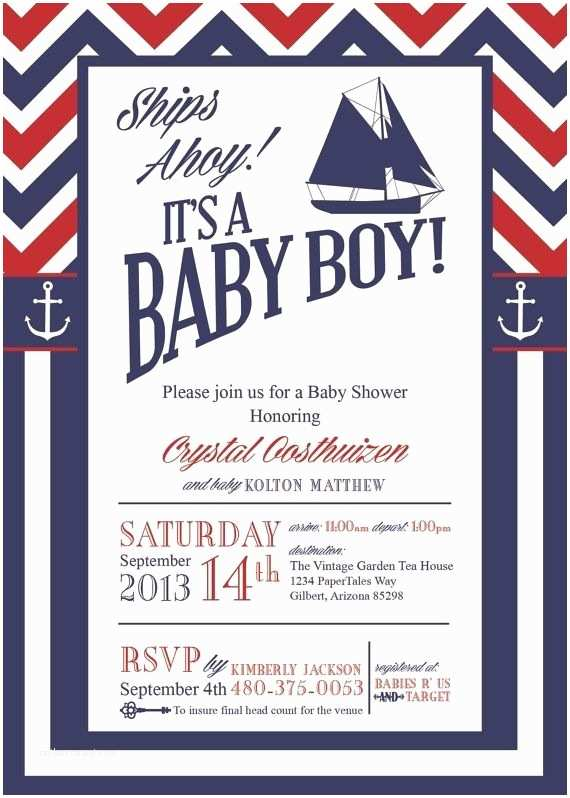 Anchor Baby Shower Invitations Nautical Baby Shower Invitations too Cute