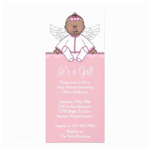 Angel Baby Shower  Pink Angel Baby Girl Shower