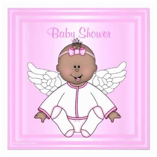 Angel Baby Shower S Pink Angel Baby Shower