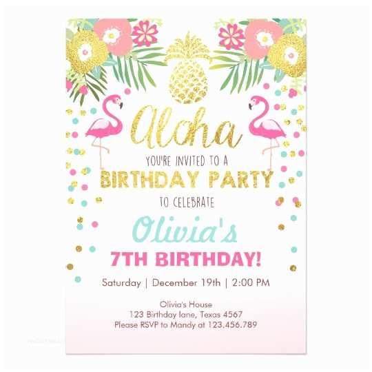 Anniversary Party Invitations Flamingo Party Invitation Tropical Birthday