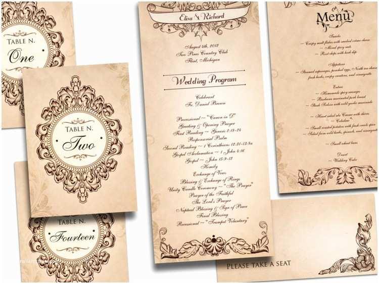 Antique Wedding Invitation Ideas Einladung Hochzeit Vintage Saisonal originell