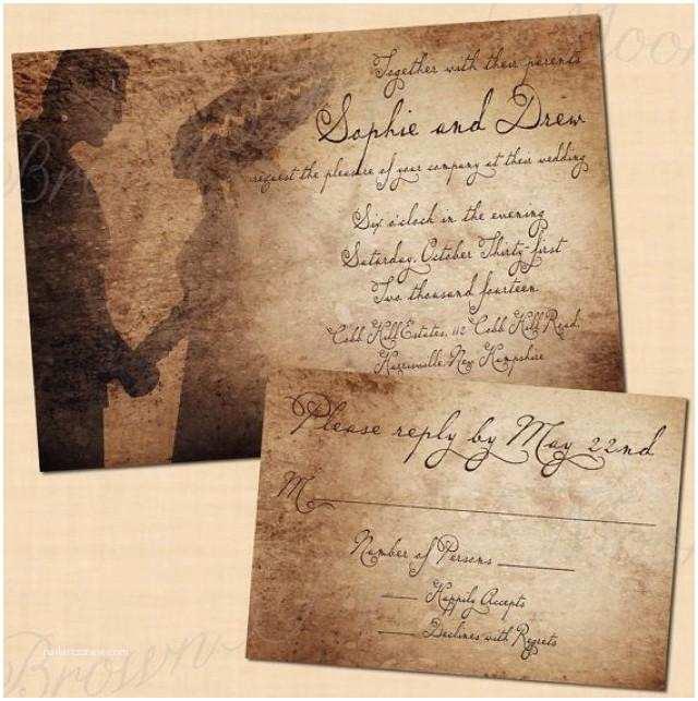 Antique Wedding Invitations Premium Frankenstein S Antique Printable Halloween Wedding