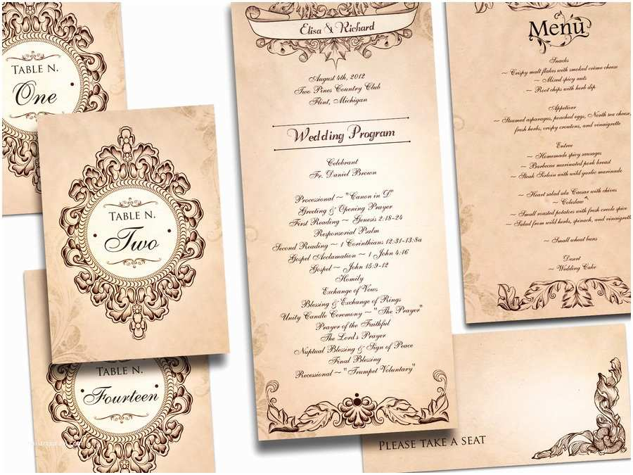 Antique Wedding Invitations Vintage For And Timeless