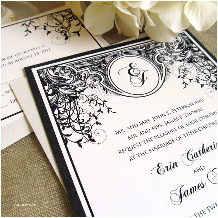 Art Nouveau Wedding Invitations 34 Best Art Nouveau Wedding Invitations Images On
