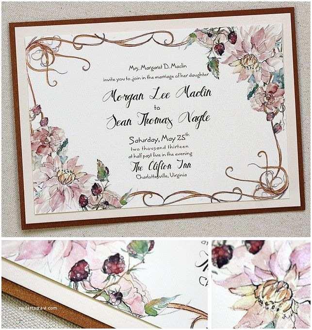 Art Nouveau Wedding Invitations 78 Best Art Nouveau Wedding Invitation Inspirations Images
