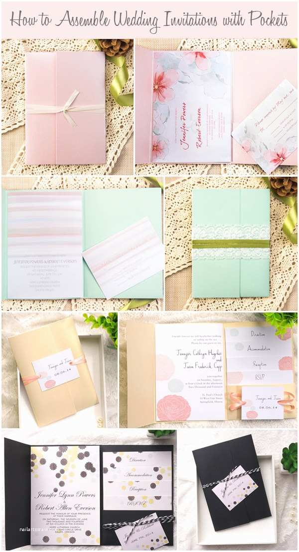Assembling Wedding Invitations How to assemble Wedding Invitations How to assemble