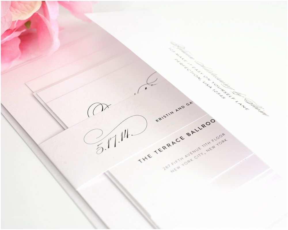 Assembling Wedding Invitations Popular Wedding Invitation Blog order Of Wedding