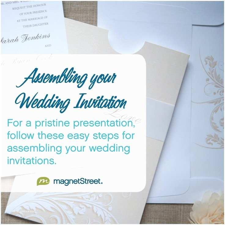 Assembling Wedding Invitations Wedding Invitation assembly Etiquette