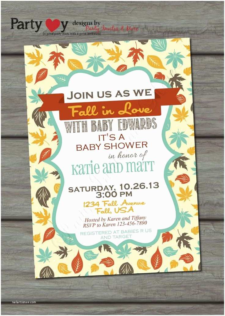 Autumn Baby Shower Invitations 43 Best Images About Fall Baby Shower Boy or Girl On