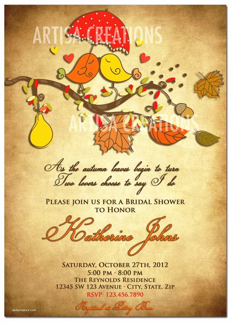Autumn Baby Shower Invitations Fall themed Baby Shower Invitations