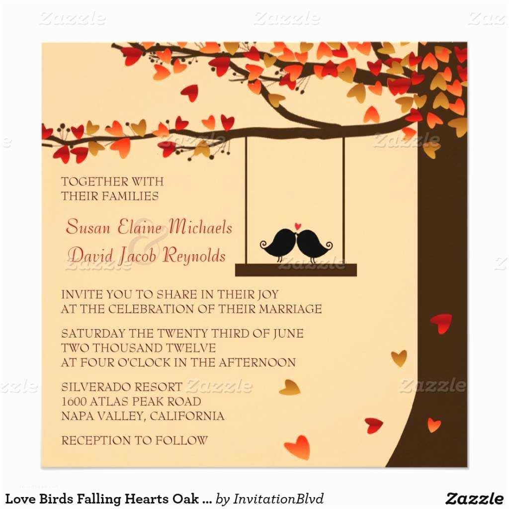 Autumn Wedding Invitations Fall Wedding Invitations