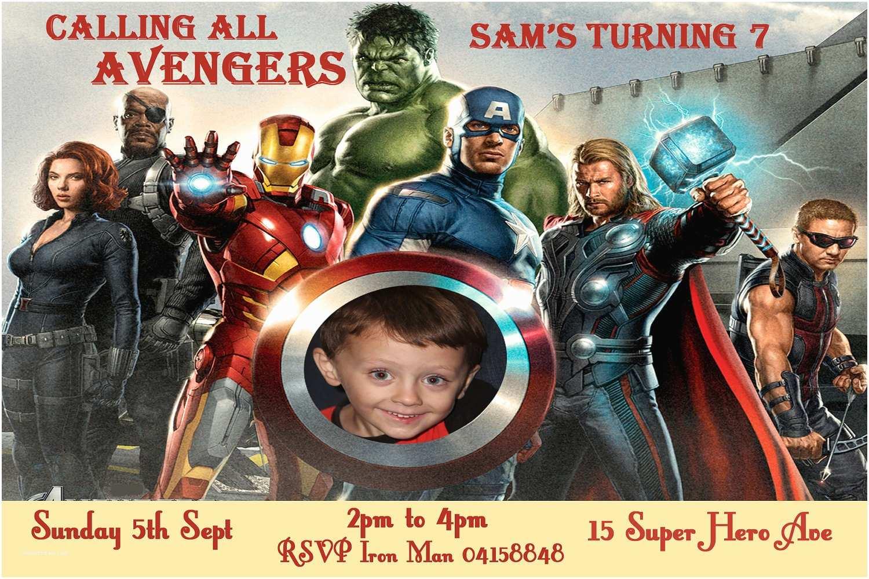 Avengers Birthday Invitations Items Similar to Avengers Birthday Invitation Personalized
