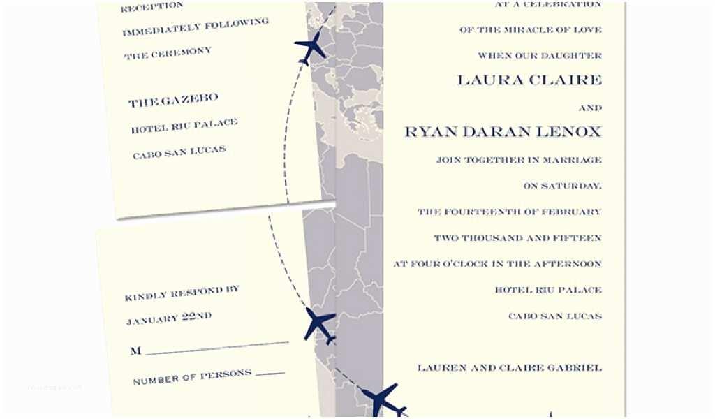 Average Wedding Invitation Size Destination Wedding Invitations From Anns Bridal Bargains