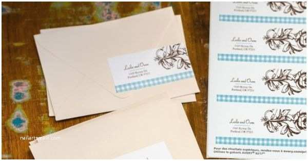 Avery Labels for Wedding Invitations Design and Print Your Own Beautiful Address Labels for